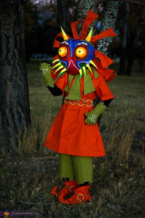 Skull Kid from The Legend of Zelda Majora's Mask Costume