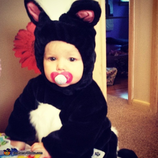 Skunk-a-Roo Baby Costume