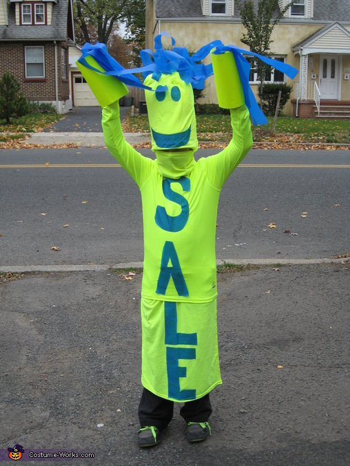 Sky Dancer Sale Sign Costume