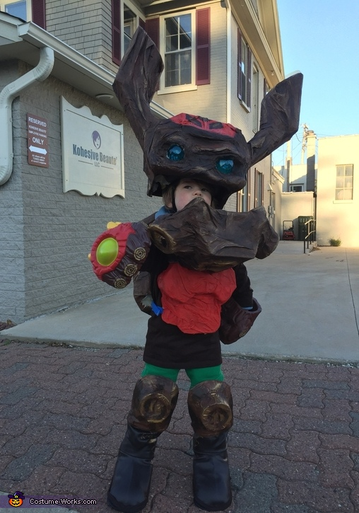 Skylander Tree Rex Costume