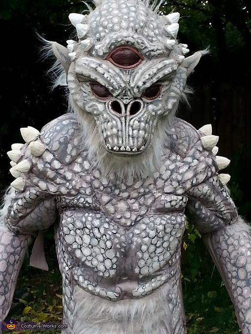 Skyrim Frost Troll Homemade Costume