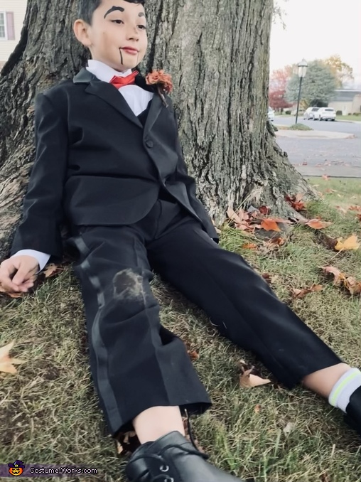My doll, Slappy Costume