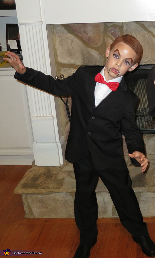 Slappy Homemade Costume