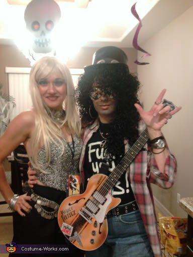 Slash - Homemade costumes for couples