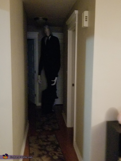 Slender Man Adult Halloween Costume Photo 33