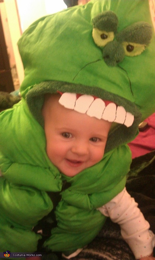Slimer from Ghostbusters - Homemade costumes for babies