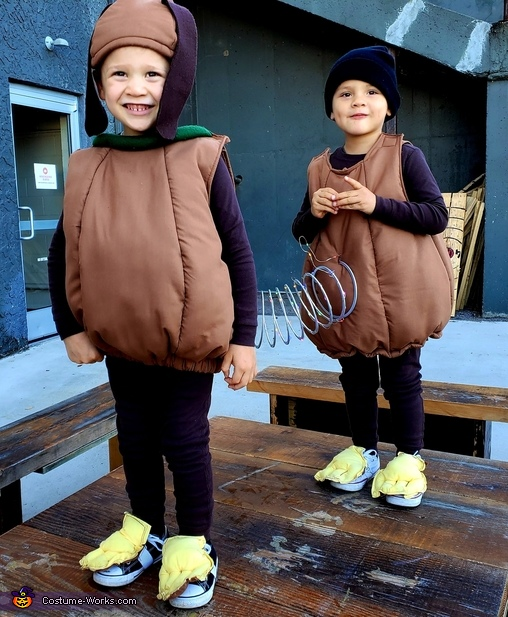 Slinky Dog Homemade Costume