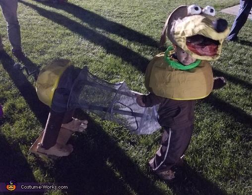 Slinky Dog, DIY Slinky Dog Costume