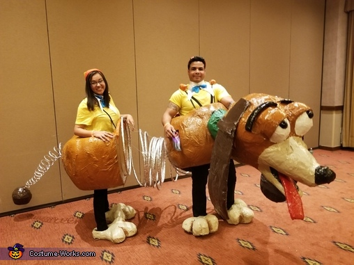 Slinky Dog Costume  sc 1 st  Costume Works & Slinky Dog Couple Costume