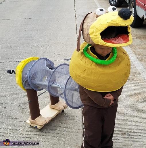 DIY Slinky Dog Costume