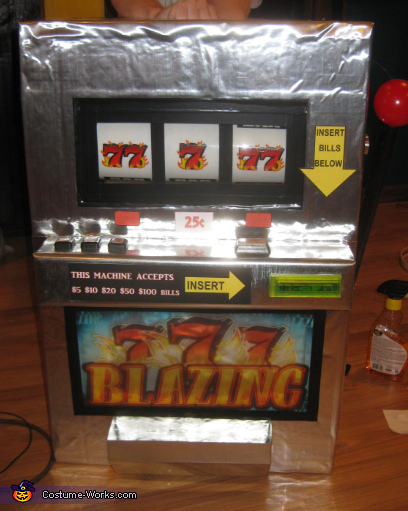 Close up ,  Slot Machine Costume