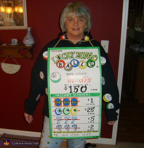Bingo Balls Costume