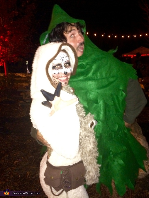 Sloth and Tree Costume