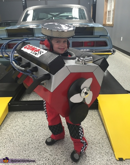 Small Block Chevy V8 Engine Costume