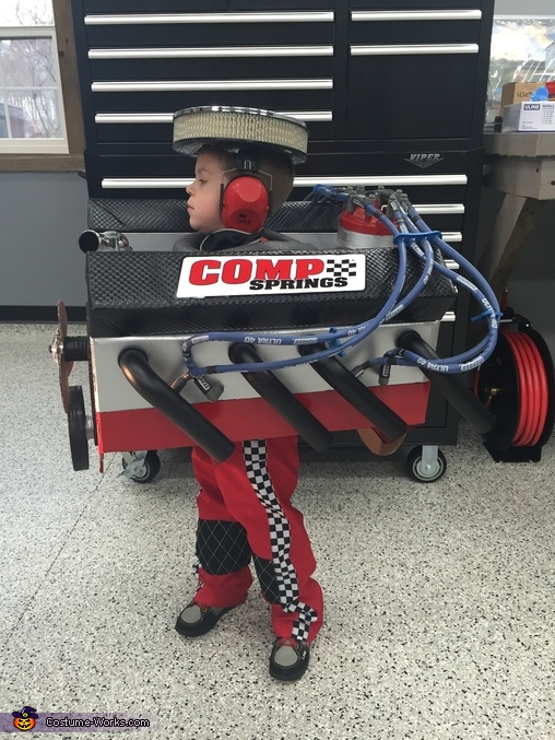 Small Block Chevy V8 Engine Homemade Costume