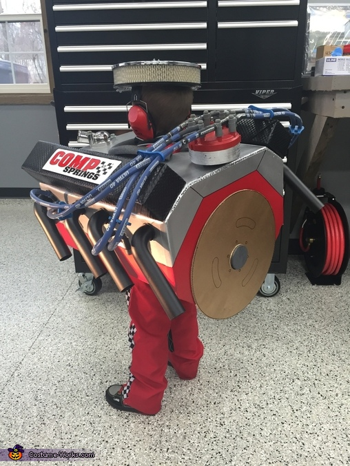 Small Block Chevy V8 Engine Homemade Costume