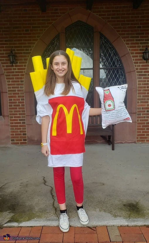 Small Fry with a side of Ketchup Costume