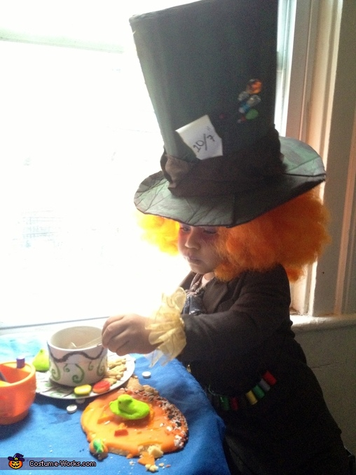 Having  a spot of tea!, Smallest Mad Hatter Baby Costume