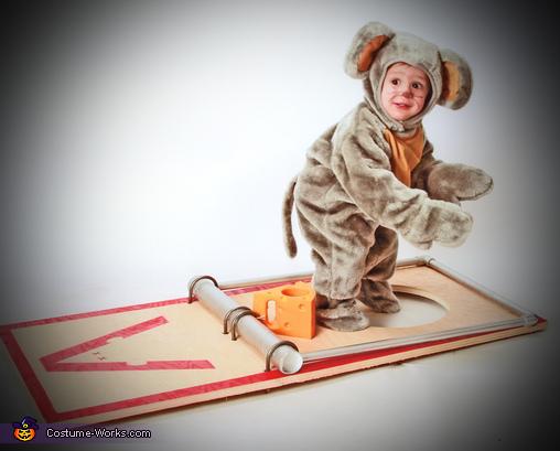 Smart Little Mouse Costume
