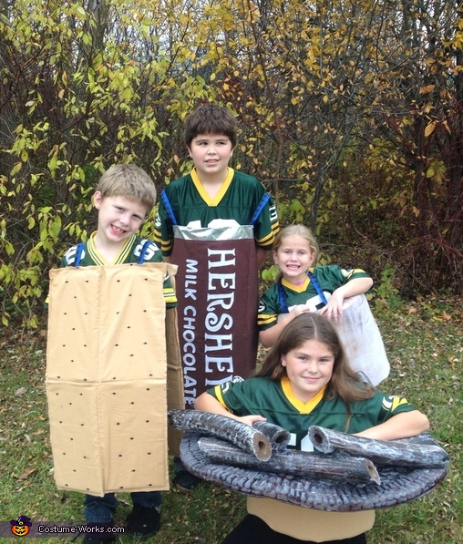 S'mores Kids Costume