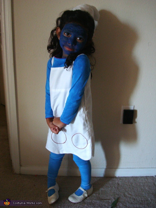 Smurf Girl - Homemade costumes for girls