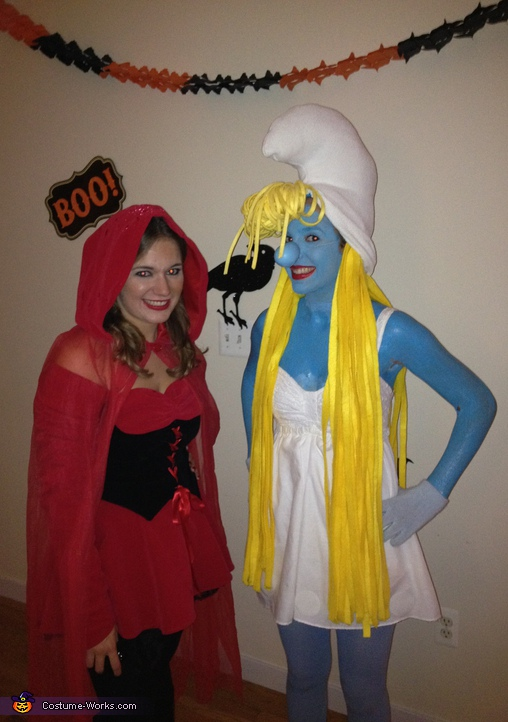 Smurfette and Little Red Riding Hood! , Smurfette Costume