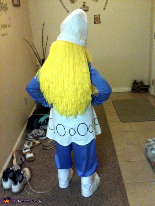 Handmade Smurfette Costume
