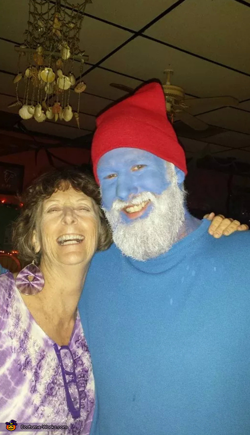 Smurfs Homemade Costume