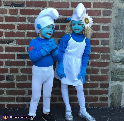 Smurfs Kids Homemade Costume
