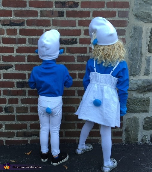 Smurfs Kids Homemade Costume