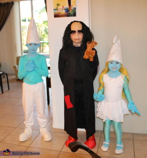 Smurfs & Gargamel Costume