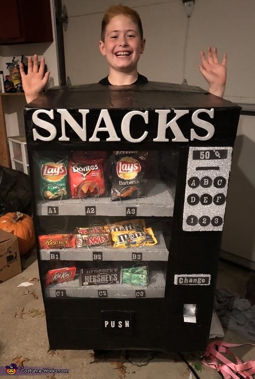 Snack Machine Costume