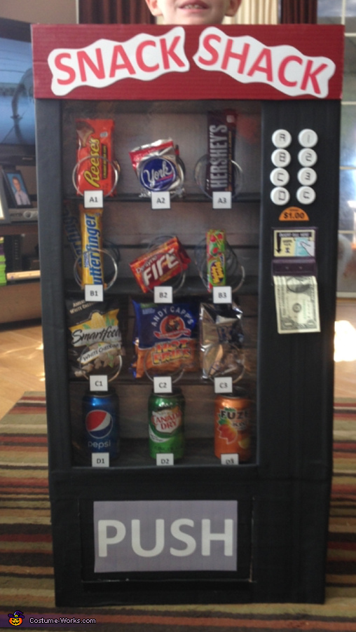 Snack Shack Vending Machine 2, Snack Shack Vending Machine Costume