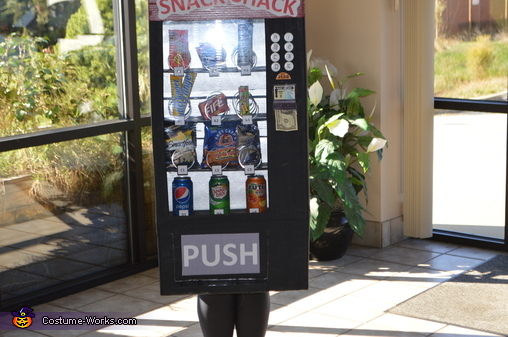 Snack Shack Vending Machine 3, Snack Shack Vending Machine Costume