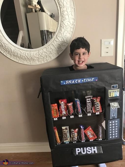 snack time vending machine costume