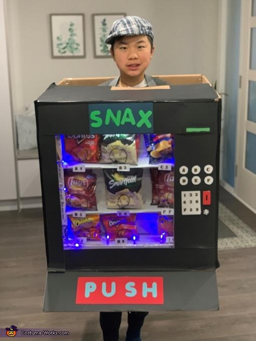 Snack Vending Machine Costume