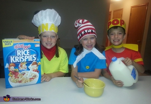 Snap, Crackle & Pop, Snap, Crackle & Pop Kids Costume