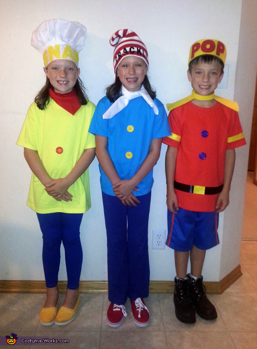 Snap Crackle Amp Pop Kids Halloween Costumes