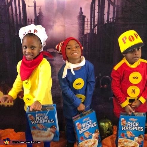 Snap Crackle Pop Costume