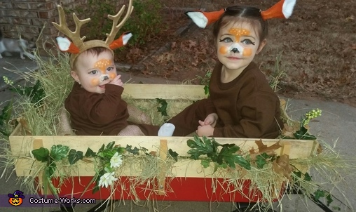 Snapchat Deer Costume