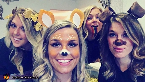 Snapchat filters close up, Snapchat Filters Costume