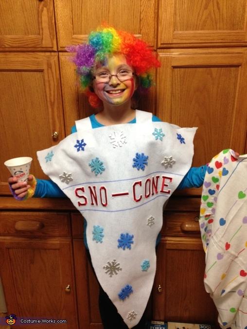 Sno-cone Costume