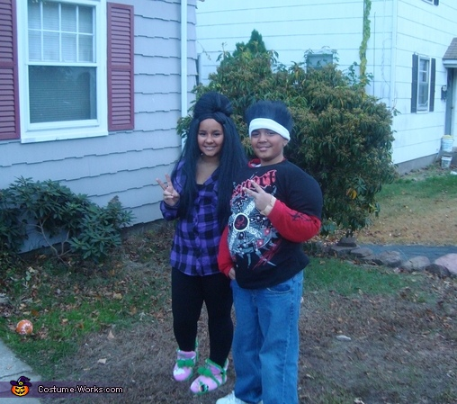 Snooki and Pauly D from Jersey Shore Costumes