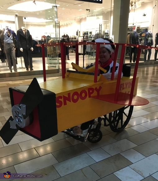 Snoopy Flyer Costume