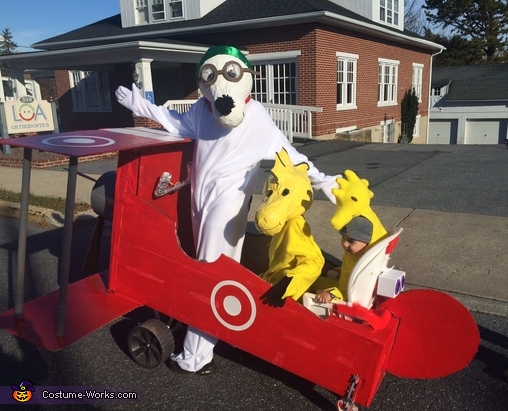 Snoopy & Friends Costume