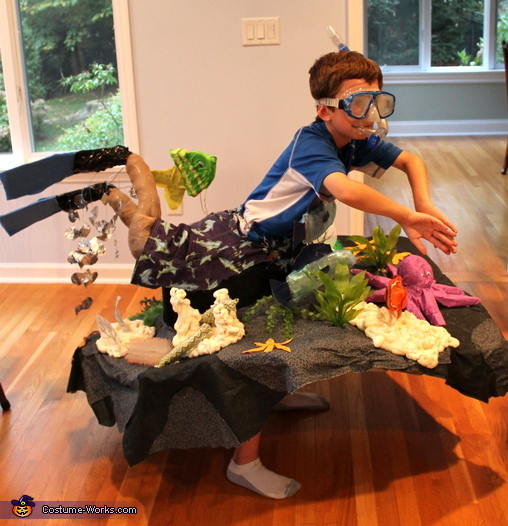 Snorkeler on a Reef Costume