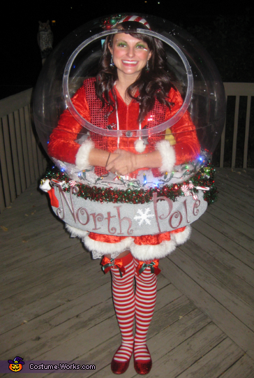 Snow Globe Costume (That really snows!)