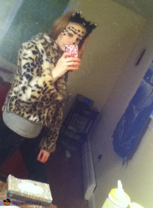 Snow Leopard Costume