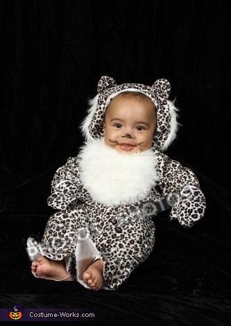 Snow Leopard Baby Costume