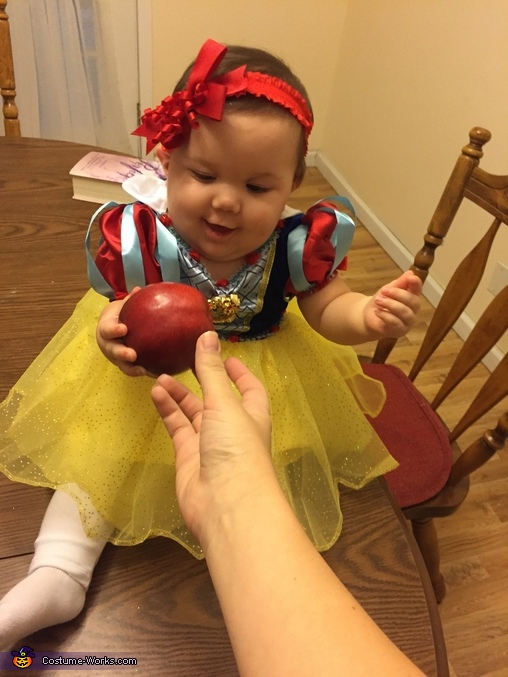 Snow White's 1st Halloween!, Snow White Baby Costume
